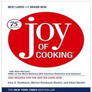 Joy Of Cooking By Irma S. Rombauer, Marion Rombaue